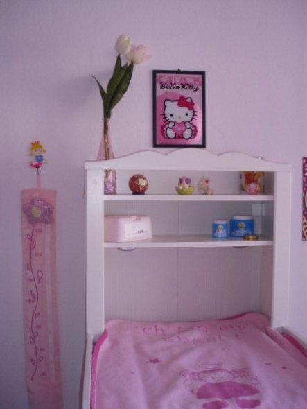 kinderzimmer 39 hello kitty kinderzimmer 39 mein domizil zimmerschau. Black Bedroom Furniture Sets. Home Design Ideas