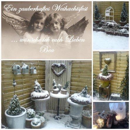 Weihnachtsdeko 'Weihnachtsgrüße'