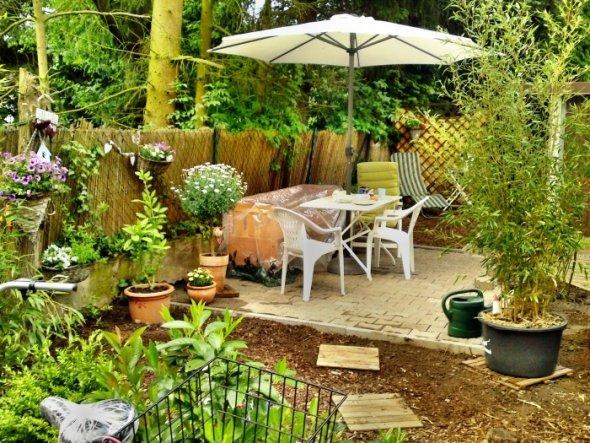 Garten 'Sitzecke im Hof'