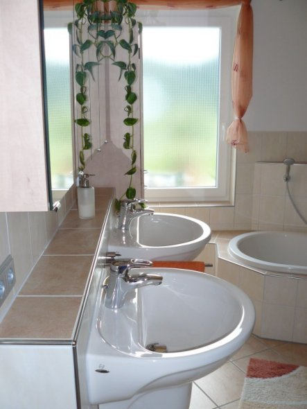 bad 'badezimmer' - unser traumhaus - zimmerschau, Badezimmer ideen