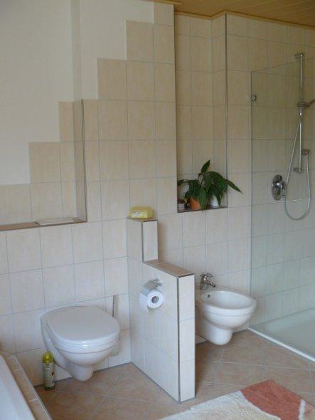bad 39 badezimmer 39 unser traumhaus zimmerschau. Black Bedroom Furniture Sets. Home Design Ideas