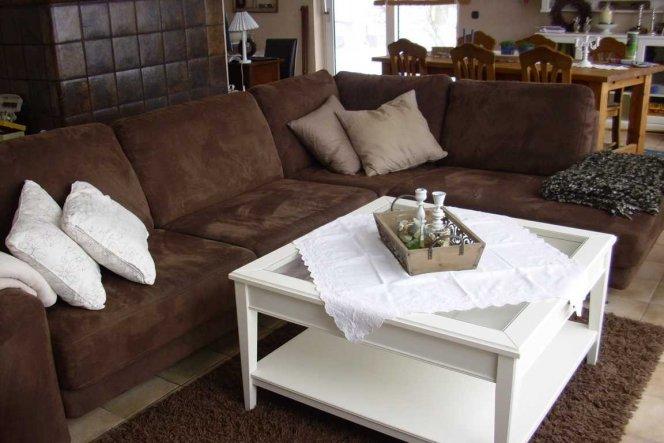 manchmal steht das Sofa aus so herum:-))