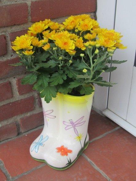 Die Blume hat Matti gekauft und eingepflanzt !!