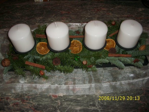 Weihnachtsdeko 'Advent'