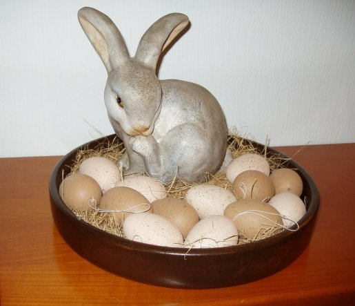 Was mach ich nur mit den Ostereiern?