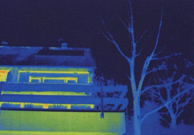 Hausfassade / Außenansichten 'Thermografie'