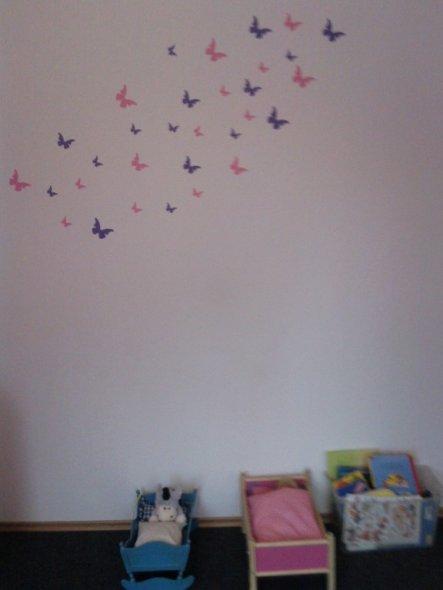 Schmetterlingsschwarm