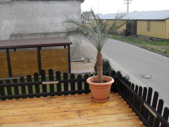 Terrasse / Balkon 'Sonnenterrasse auf der Garage'