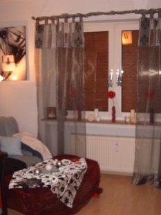 Neue Wohnung-Wohn und Schlafbereich