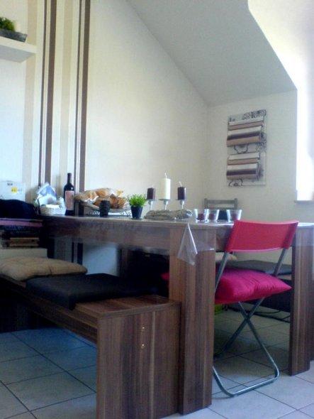 esszimmer 39 k che 39 meine eigene wohnung zimmerschau. Black Bedroom Furniture Sets. Home Design Ideas