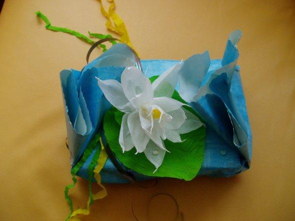 """Mit gleichem Prinzip  wie Blumen in""""Tipps&Tricks"""" ist auch Seerose gemacht :)"""