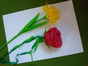 Tipp & Trick 'Blumen basteln.....:)'