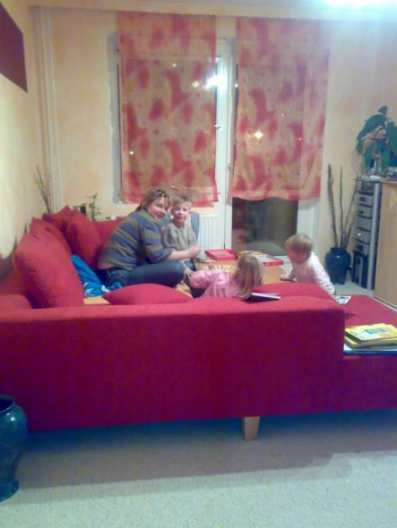Wohnzimmer 'Relaxzone für alle'