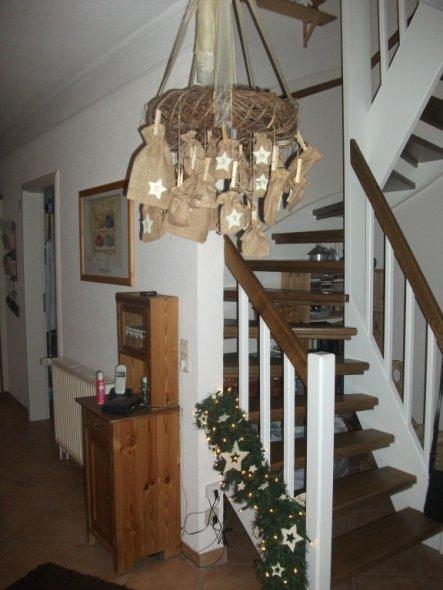 weihnachtsdeko 39 drau en vom walde es weihnachtete sehr 39 klein und mein zimmerschau. Black Bedroom Furniture Sets. Home Design Ideas