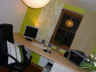 Grüne Bürooase