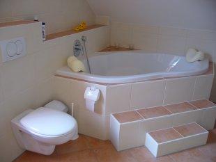 bad 39 unser neues badezimmer 39 sweet home zimmerschau. Black Bedroom Furniture Sets. Home Design Ideas
