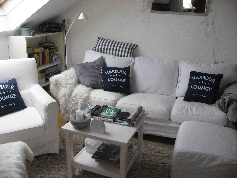 Wohnzimmer \'Shabby chic mit Beachfeeling\' - Mein Domizil - Zimmerschau