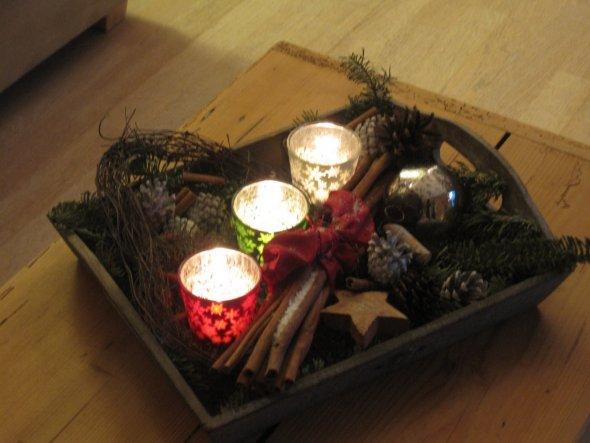 Weihnachtsdeko 'Aller Jahre wieder!!!!'
