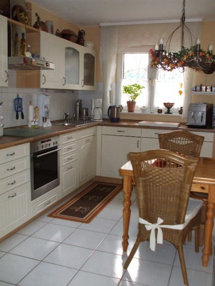 So sieht die Küche heute aus.
