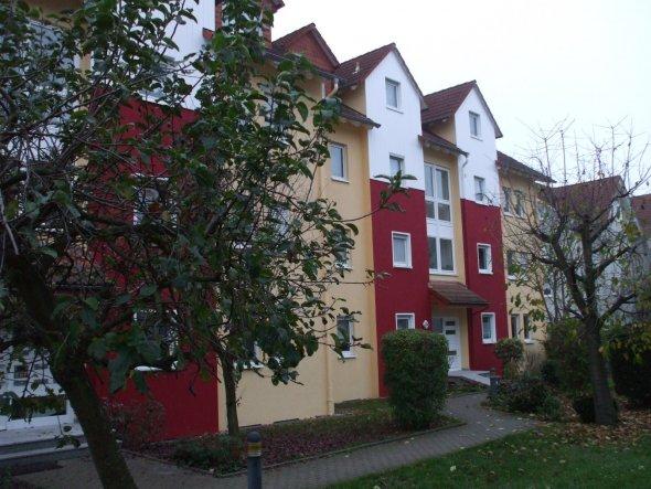 Unser Haus nach der Fassadenrenovierung 2011