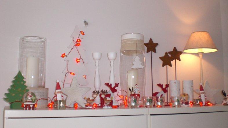 weihnachtsdeko 39 weihnachten 39 zuhause ist es am sch nsten zimmerschau. Black Bedroom Furniture Sets. Home Design Ideas