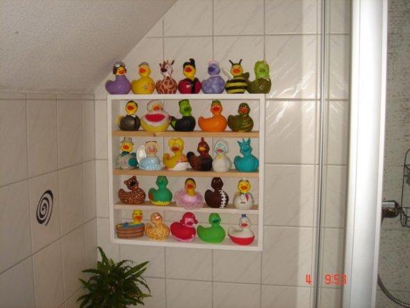 eine kleine Auswahl an Badeenten...