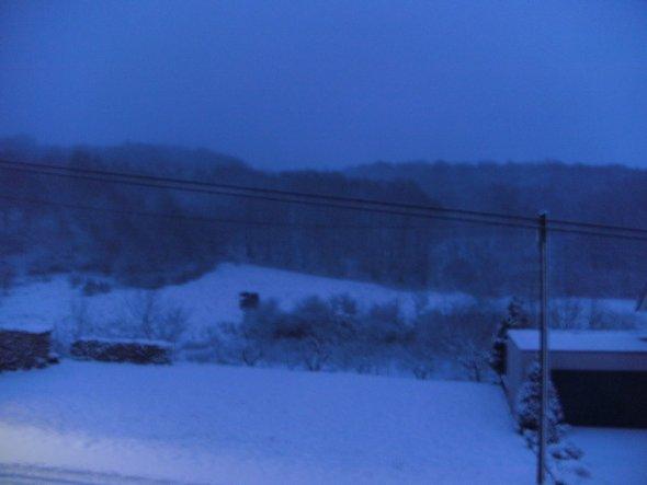 Hausfassade / Außenansichten 'Winter im Saarland'
