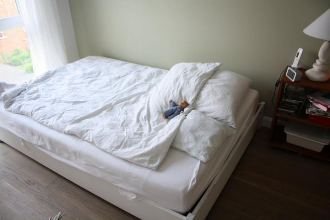 Schlafzimmer 'Schildkrötenlager'