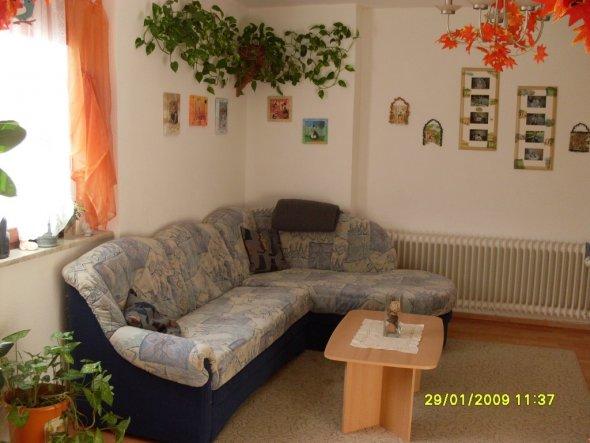 Blick auf die Couch