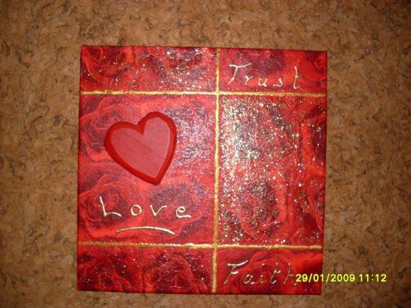 Ein Geschenk für meinen Mann zum letzten Valentinstag.