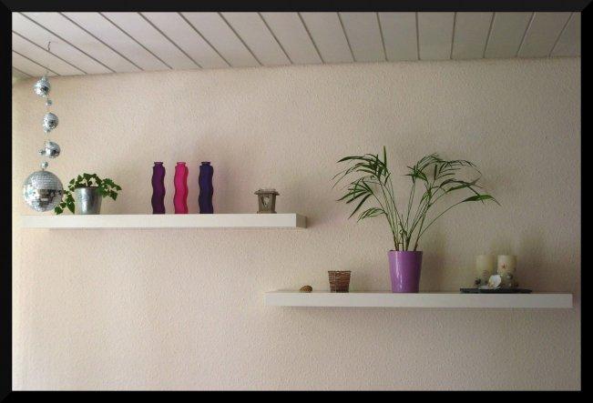 Wohnzimmer 'chillen und schlemmen'