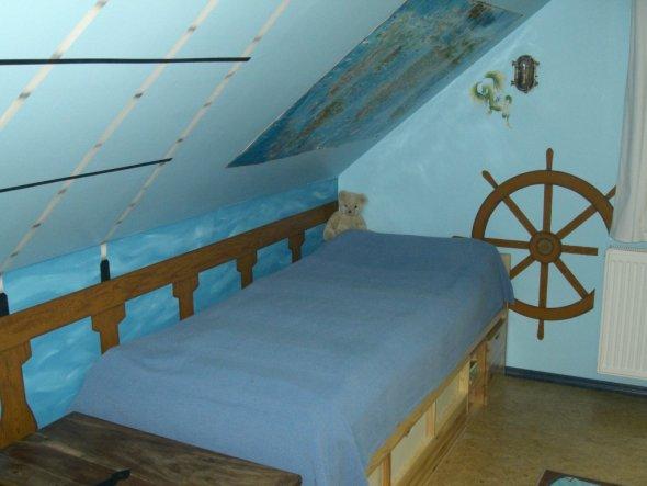 Kinderzimmer 'Johannes Piratenzimmer'