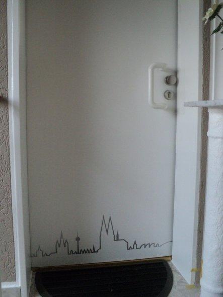 Flur/Diele 'Türenbeschichtung'