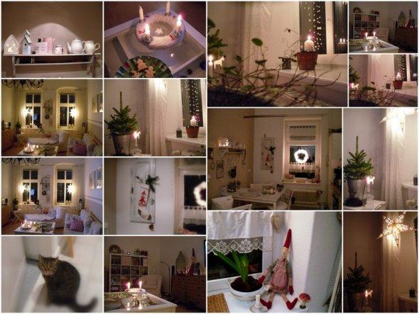 Weihnachtsdeko 'Advent 2010'