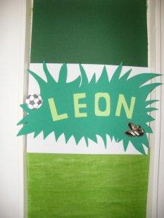 Leons Fussballzimmer
