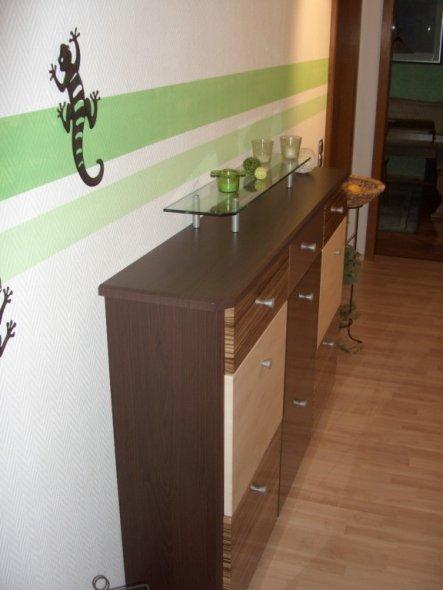 flur diele 39 gr ner flur 39 mein domizil zimmerschau. Black Bedroom Furniture Sets. Home Design Ideas