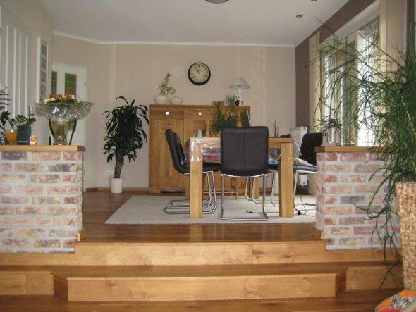 wohnzimmer 'wohn- und esszimmer' - unser heim - zimmerschau, Esszimmer dekoo