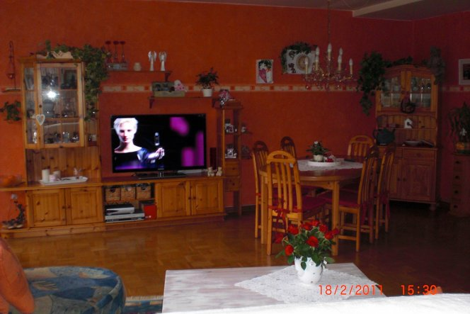 Wohnzimmer 'Altes WoZi vor der Renovierung'