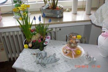Osterdeko '♥-liche Ostergrüße'