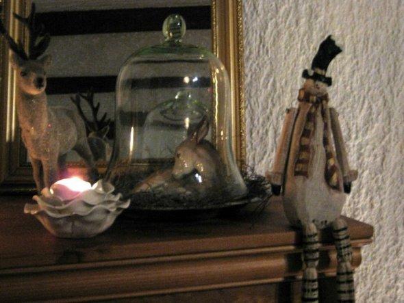 weihnachtsdeko 39 weihnachten 39 zu hause helpimaus zimmerschau. Black Bedroom Furniture Sets. Home Design Ideas