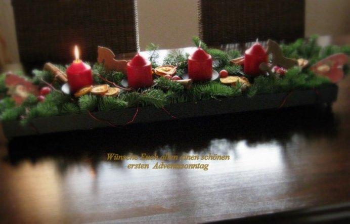 Weihnachtsdeko 'Advent und Weihnacht 2010'