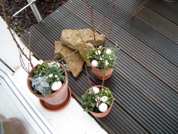 osterdeko unser nest von emyfee 8014 zimmerschau. Black Bedroom Furniture Sets. Home Design Ideas