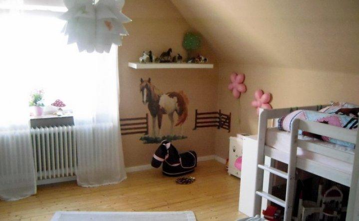 Kinderzimmer 39 pferdezimmer 39 unser nest zimmerschau - Pferde bordure kinderzimmer ...