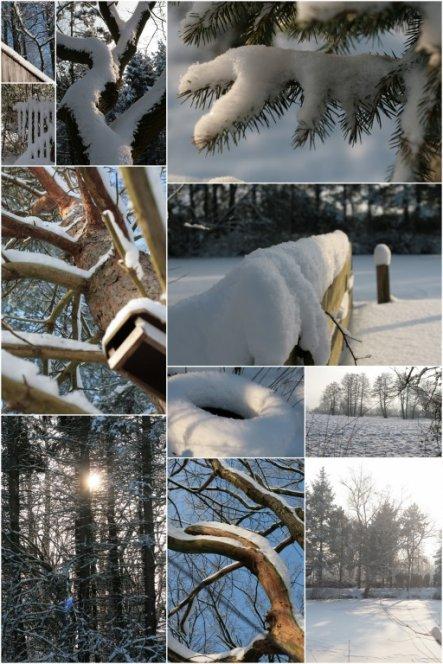 Hausfassade / Außenansichten 'Winterstimmung'