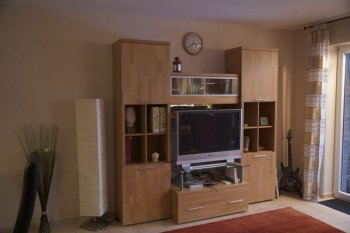 Wohnzimmer 39 wohnzimmer 39 unser neues zuhause for Schrankwand wohnzimmer klassisch