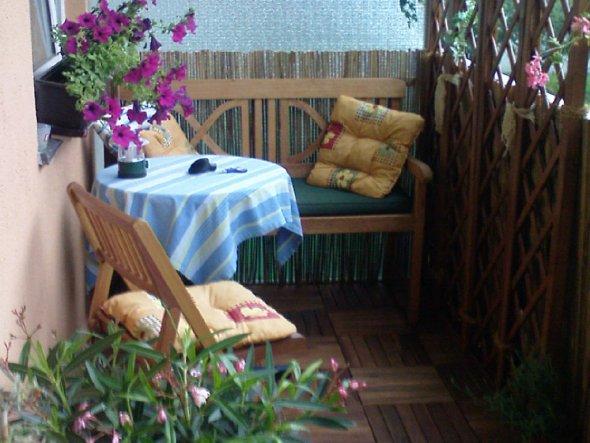 Terrasse / Balkon 'Wohnzimmer im Freien'