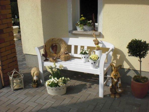 Osterdeko Für Draußen osterdeko osterdeko häuschen am wald zimmerschau