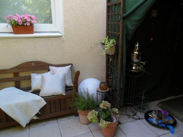 Terrasse / Balkon 'unsere heißgeliebte Terrasse'