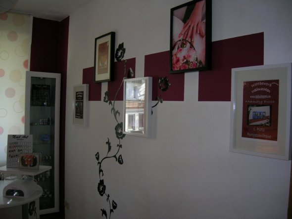Arbeitszimmer / Büro 'Mein Naildesign-Homestudio'