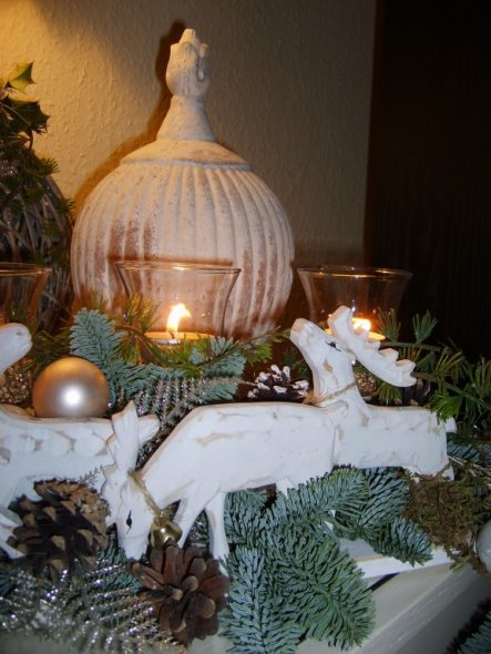 Weihnachtsdeko 'weihnachten im wohnzimmer'